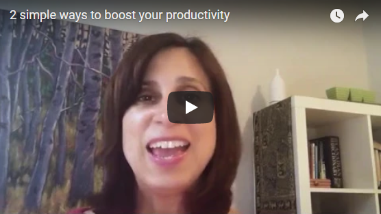 2 simple ways to boost your productivity