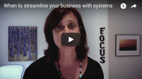 When to streamline your business