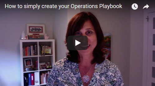 My secret to creating an Operations Playbook