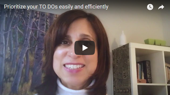 Prioritize your TO DOs easily and efficiently