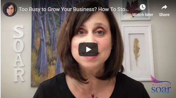 Too busy to grow your business? How to stop spinning and start scaling.