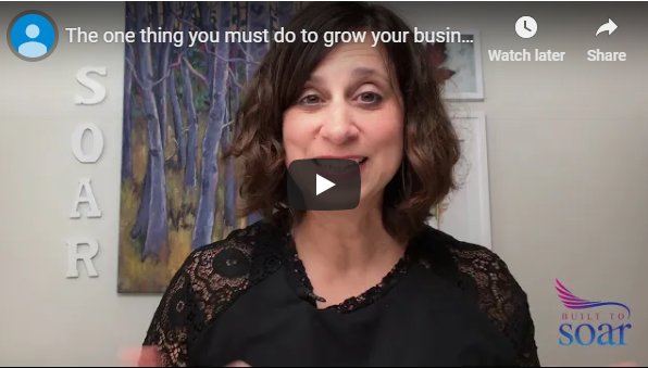 The one thing you must do to grow your business