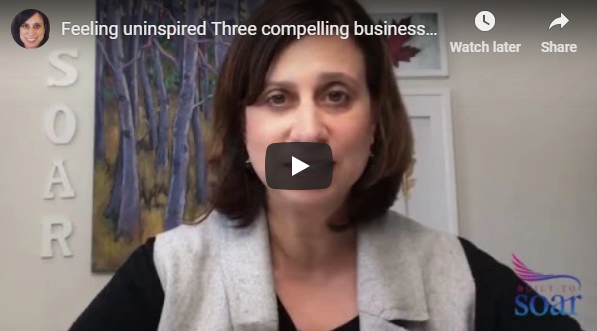 Feeling uninspired? Three compelling business reasons to connect with your WHY