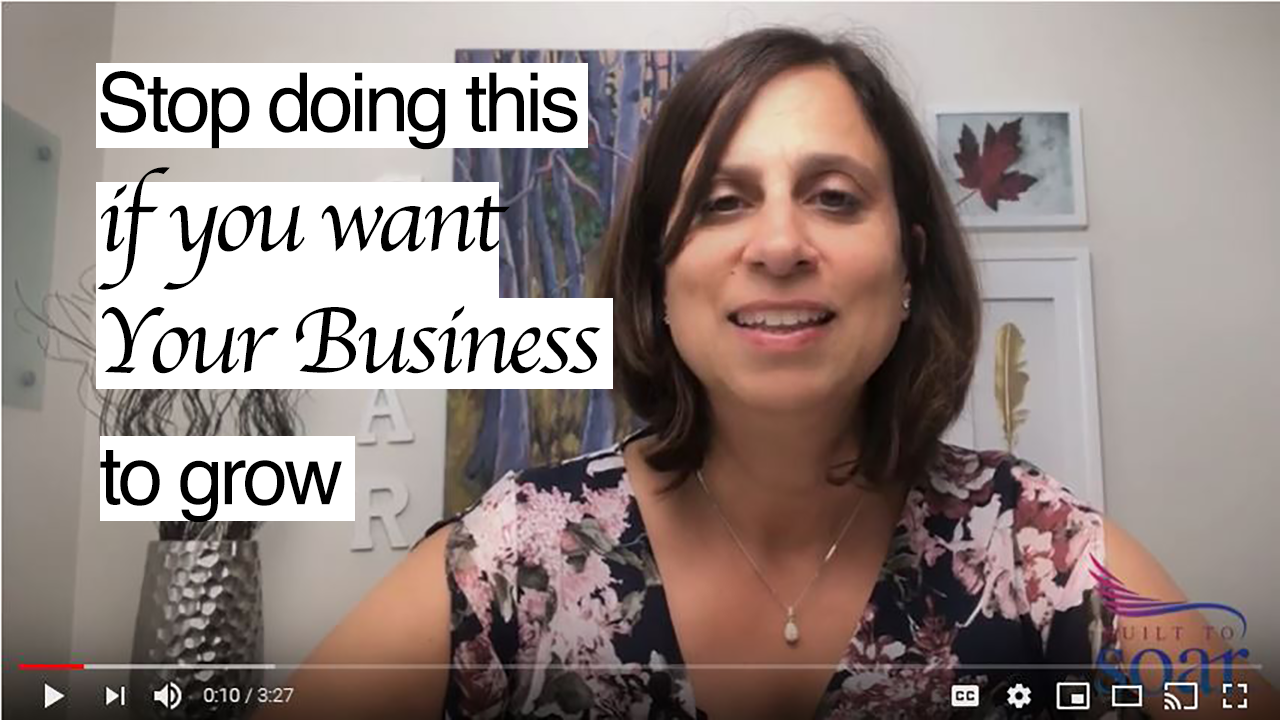 Stop doing this if you want your business to grow